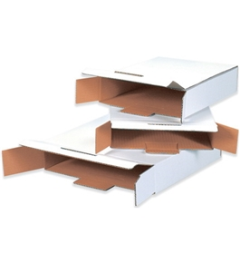 "12 1/8"" x 11 5/8"" x 2 5/8"" Side Loading Locking Mailers (50 Each Per Bundle)"