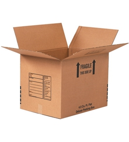 "12"" x 12"" x 12"" Deluxe Packing Boxes (5 Each Per Bundle)"