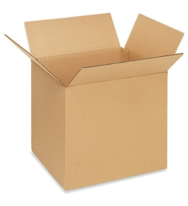 "12"" x 10"" x 12"" Corrugated Boxes (Bundle of 25)"