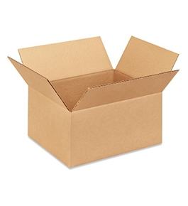 "12"" x 10"" x 6"" Corrugated Boxes (Bundle of 25)"