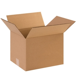 "12"" x 10"" x 9"" Corrugated Boxes (Bundle of 25)"