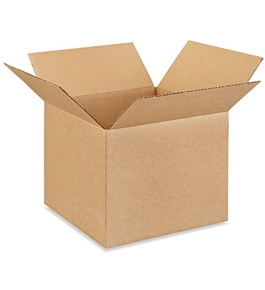 "12"" x 12"" x 10"" Corrugated Boxes (Bundle of 25)"