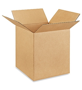 "12"" x 12"" x 14"" Corrugated Boxes (Bundle of 25)"