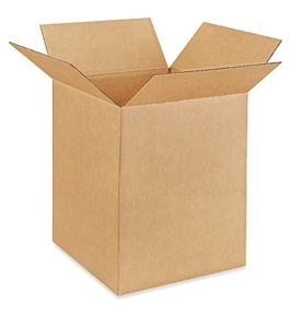 "12"" x 12"" x 16"" Corrugated Boxes (Bundle of 25)"