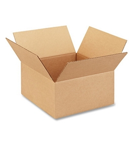 "12"" x 12"" x 6"" Corrugated Boxes (Bundle of 25)"
