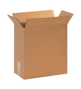 "12 3/4"" x 6 3/8"" x 13 1/2"" Corrugated Boxes (Bundle of 25)"