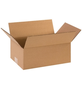 "12"" x 8"" x 5"" Corrugated Boxes (Bundle of 25)"