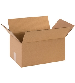 "12"" x 8"" x 6"" Corrugated Boxes (Bundle of 25)"