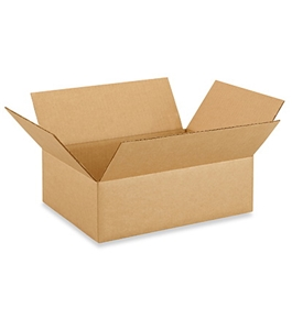 "13"" x 10"" x 4"" Corrugated Boxes (Bundle of 25)"