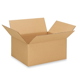 "13"" x 10"" x 6"" Corrugated Boxes (Bundle of 25)"