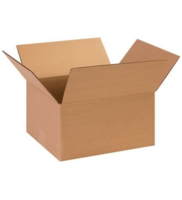 "13"" x 10"" x 9"" Corrugated Boxes (Bundle of 25)"