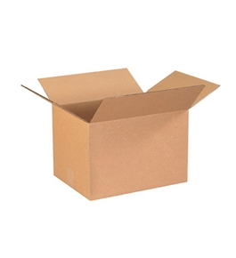 "13 1/4"" x 10 1/4"" x 9"" Corrugated Boxes (Bundle of 25)"