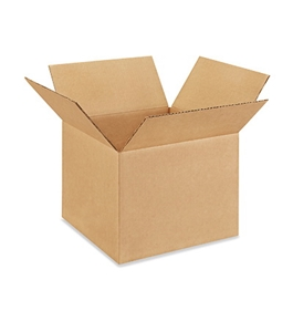 "13"" x 13"" x 10"" Corrugated Boxes (Bundle of 25)"