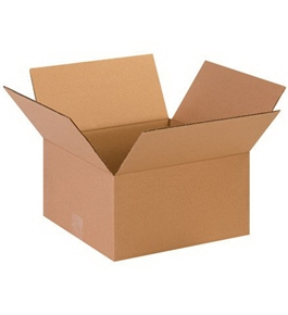 "13"" x 13"" x 7"" Corrugated Boxes (Bundle of 25)"