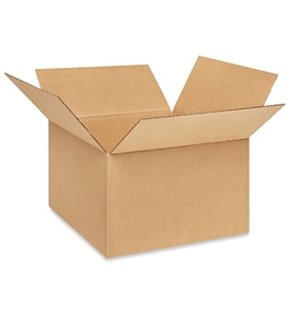 "13"" x 13"" x 8"" Corrugated Boxes (Bundle of 25)"