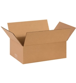 "14"" x 10"" x 5"" Corrugated Boxes (Bundle of 25)"