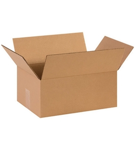 "14"" x 10"" x 6"" Corrugated Boxes (Bundle of 25)"