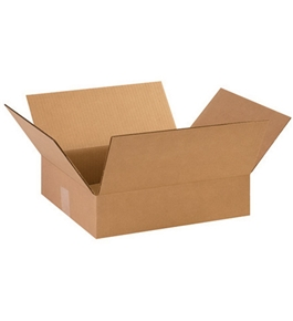 "14 3/8"" x 12 1/2"" x 3 1/2"" Corrugated Boxes (Bundle of 25)"