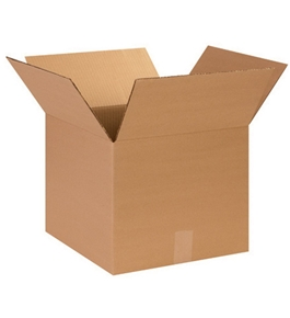 "14"" x 14"" x 12"" Corrugated Boxes (Bundle of 25)"
