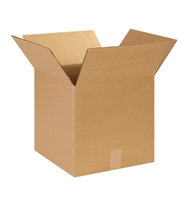 "14"" x 14"" x 14"" Corrugated Boxes (Bundle of 25)"