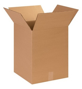 "14"" x 14"" x 18"" Corrugated Boxes (Bundle of 25)"