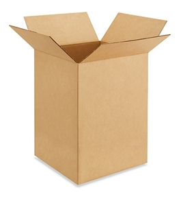 "14"" x 14"" x 20"" Corrugated Boxes (Bundle of 20)"