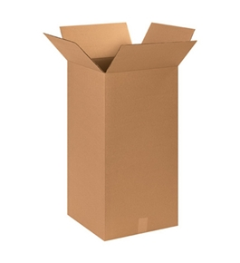 "14"" x 14"" x 30"" Tall Corrugated Boxes (Bundle of 20)"