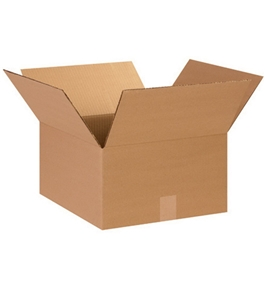 "14"" x 14"" x 8"" Corrugated Boxes (Bundle of 25)"
