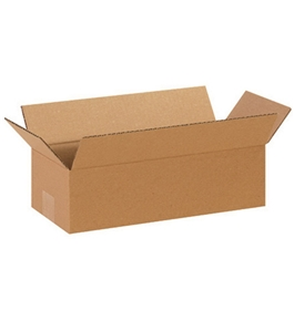 "14"" x 6"" x 4"" Long Corrugated Boxes (Bundle of 25)"