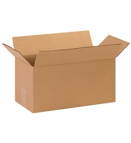 "14"" x 7"" x 7"" Long Corrugated Boxes (Bundle of 25)"