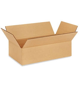 "14"" x 8"" x 4"" Corrugated Boxes (Bundle of 25)"