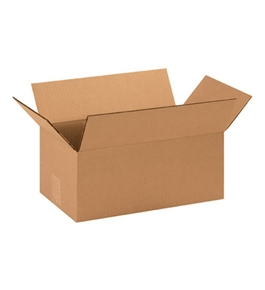 "14 1/2"" x 8 3/4"" x 6"" Corrugated Boxes (Bundle of 25)"