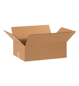 "15"" x 10"" x 5"" Flat Corrugated Boxes (Bundle of 25)"