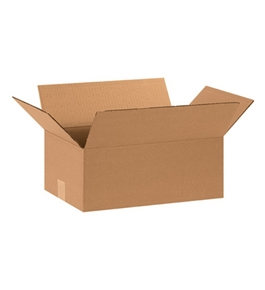 "15"" x 10"" x 6"" Corrugated Boxes (Bundle of 25)"