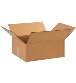 "15"" x 12"" x 6"" Corrugated Boxes (Bundle of 25)"