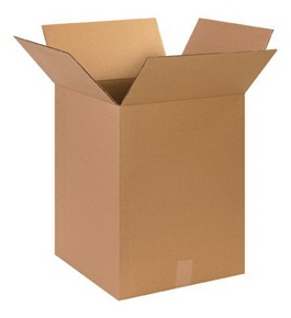 "15"" x 15"" x 20"" Corrugated Boxes (Bundle of 25)"