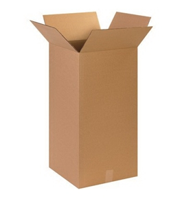 "15"" x 15"" x 30"" Tall Corrugated Boxes (Bundle of 15)"