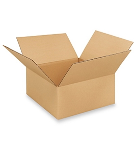 "15"" x 15"" x 5"" Flat Corrugated Boxes (Bundle of 25)"