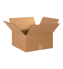 "15"" x 15"" x 8"" Corrugated Boxes (Bundle of 25)"