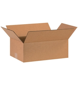 "16"" x 10"" x 6"" Corrugated Boxes (Bundle of 25)"