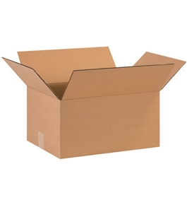 "16"" x 12"" x 8"" Corrugated Boxes (Bundle of 25)"