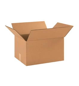 "16 1/4"" x 12 1/4"" x 9 5/16"" Corrugated Boxes (Bundle of 25)"