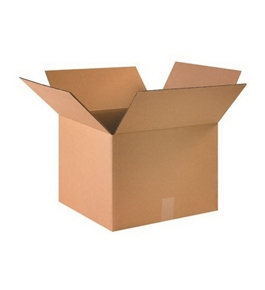 "16"" x 16"" x 12"" Corrugated Boxes (Bundle of 25)"