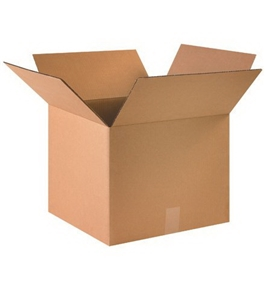 "16"" x 16"" x 13"" Corrugated Boxes (Bundle of 25)"