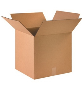 "16"" x 16"" x 15"" Corrugated Boxes (Bundle of 25)"