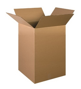 "16"" x 16"" x 26"" Corrugated Boxes (Bundle of 10)"