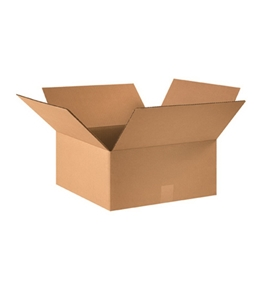 "16"" x 16"" x 7"" Corrugated Boxes (Bundle of 25)"