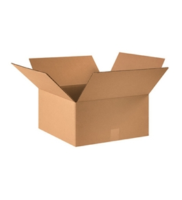 "16"" x 16"" x 8"" Corrugated Boxes (Bundle of 25)"