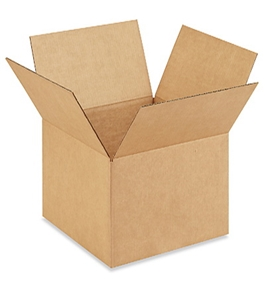 "16"" x 16"" x 9"" Corrugated Boxes (Bundle of 25)"