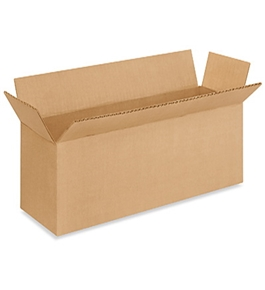 "16"" x 4"" x 4"" Long Corrugated Boxes (Bundle of 25)"